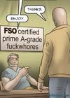 Grade-A fuckwhore gets fucked by a bald dude.Slave Fair Year Three By