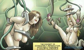 decapitated brunette attractiveslave fair
