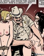 Hick sheriff gets ready to rape some slave girls.The Hotties Next Door