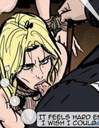Blonde slave throat-fucked and beaten to pulp.The Hotties Next Door 7