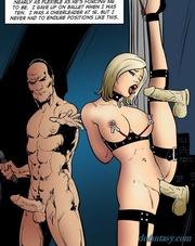 leggy sex slave corset