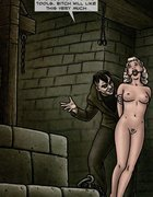 Ballgagged blonde getting fucked by an Ygor-like creep.Creepy By Slasher