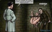 mad scientist shows torture