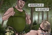 backwoods rapist fucking his