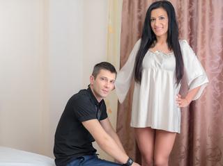 white couple cuteecouple facial