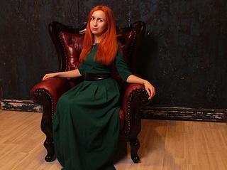 teen fire red hair