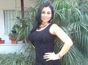 latin girl with long