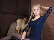 white teen with blonde