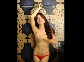 asian girl brown hair
