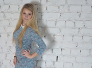 teen with blonde hair