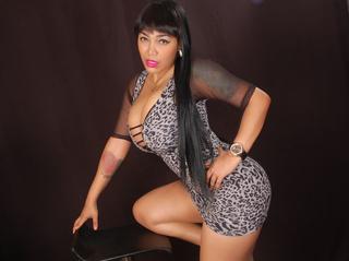 latin girl black hair