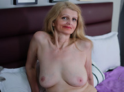 white mature with blonde