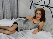 white milf with fire
