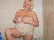 white granny with blonde