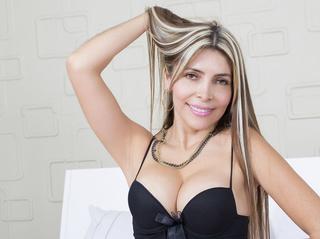 latin milf blonde hair