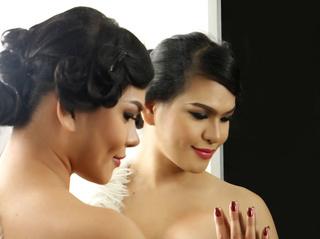 asian transgender giftedgirlforyou smoking