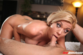 blue-eyed blonde massive tits