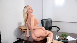 Stunning blondes duo shed sexy lingerie  - XXX Dessert - Picture 8
