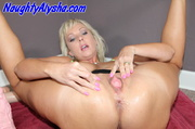 nasty blonde whore wearing