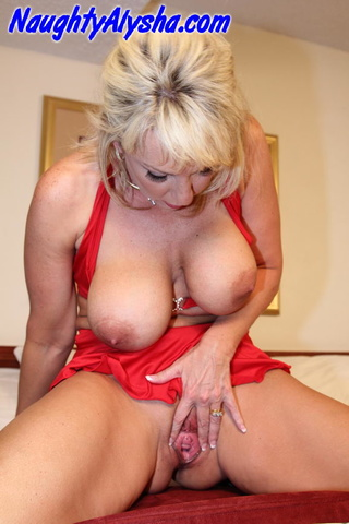 sultry blonde whore blue