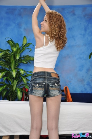 curly haired teen white