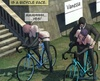 Remaining three slaves have to ride bikes with dildos. Brutal Earl Part