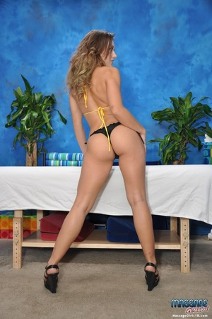 Fit college chick plays with hard cocks  - XXX Dessert - Picture 4