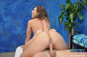 Fit college chick plays with hard cocks  - XXX Dessert - Picture 13