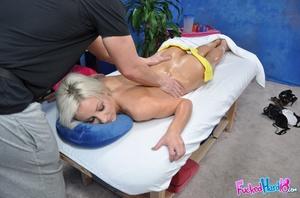 Petite blonde babe in black lingerie enj - XXX Dessert - Picture 6