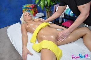 Petite blonde babe in black lingerie enj - XXX Dessert - Picture 9