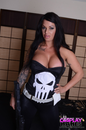 Huge tits hang over her punisher dress,  - XXX Dessert - Picture 6