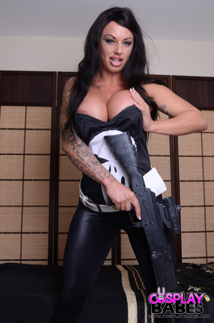 Huge tits hang over her punisher dress,  - XXX Dessert - Picture 7