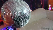 disco-themed sex session with