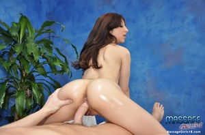 Tatooed slut oiled up and fucked hard in - XXX Dessert - Picture 15