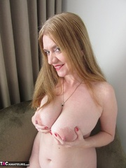 big boobed gal with