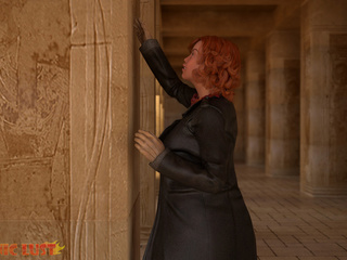 Egyptian monster drills a big-boobed redhead beauty - Picture 2