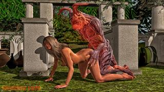 disgusting monster bangs big-boobed
