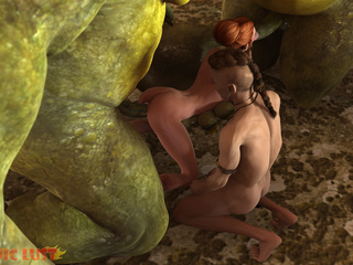 Two demonic creatures have awesome sex action - Picture 5