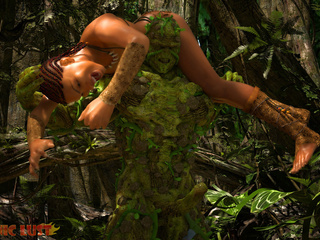 Perfect female gets nailed hard by the tree - Picture 2