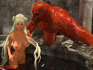 Satan know how to fuck such a sexy busty blonde - Picture 2