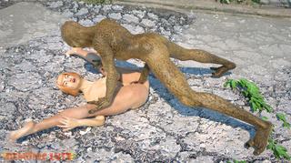 awesome long-legged slut nasty