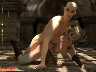 The nastiest beast drills a filthy demonic hooker - Picture 3