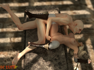 The nastiest beast drills a filthy demonic hooker - Picture 4