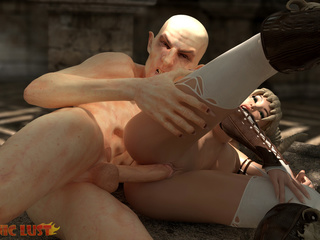 The nastiest beast drills a filthy demonic hooker - Picture 5
