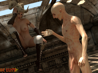 The nastiest beast drills a filthy demonic hooker - Picture 6