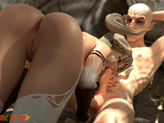 Demonic hooker gets nicely drilled by nasty bald - Picture 5
