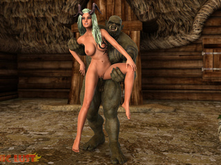 Goddess of your dreams banged by the nastiest monster - Picture 5