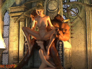 Two sensual sluts are pleasing satan in the hottest - Picture 3