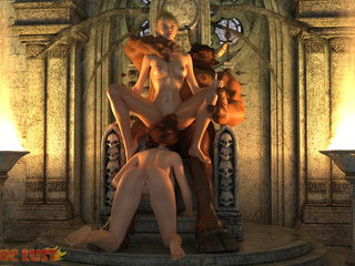 Two sensual sluts are pleasing satan in the hottest - Picture 4