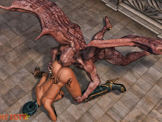 Monster from hell drills a passionate ebony slut - Picture 5